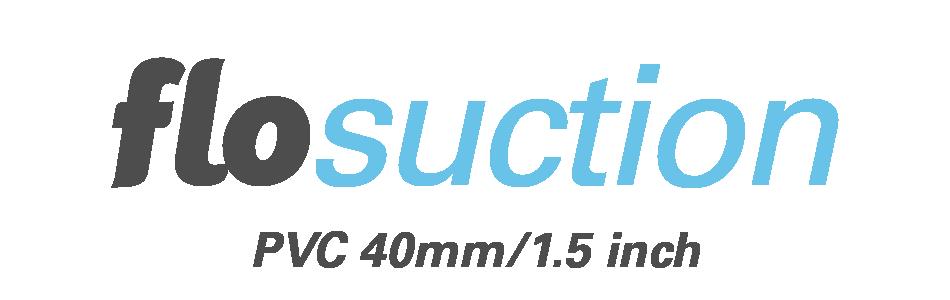 Flosuction PVC 40mm